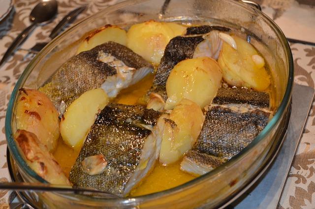 Бакалао аль пиль пиль. Средиземноморская диета.