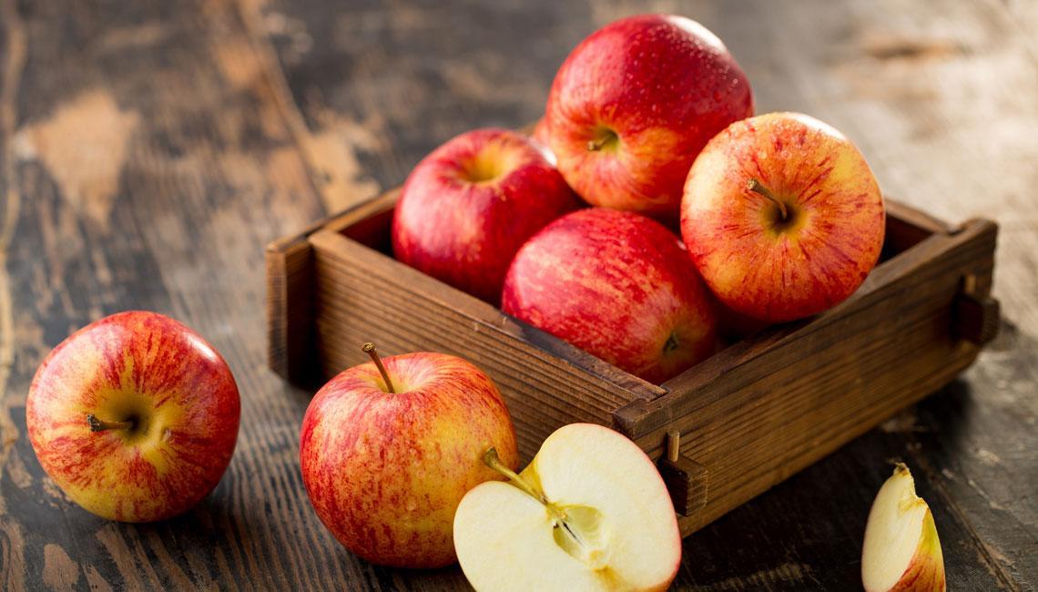 Средиземноморская диета. Карпаччо из яблок и лимона.