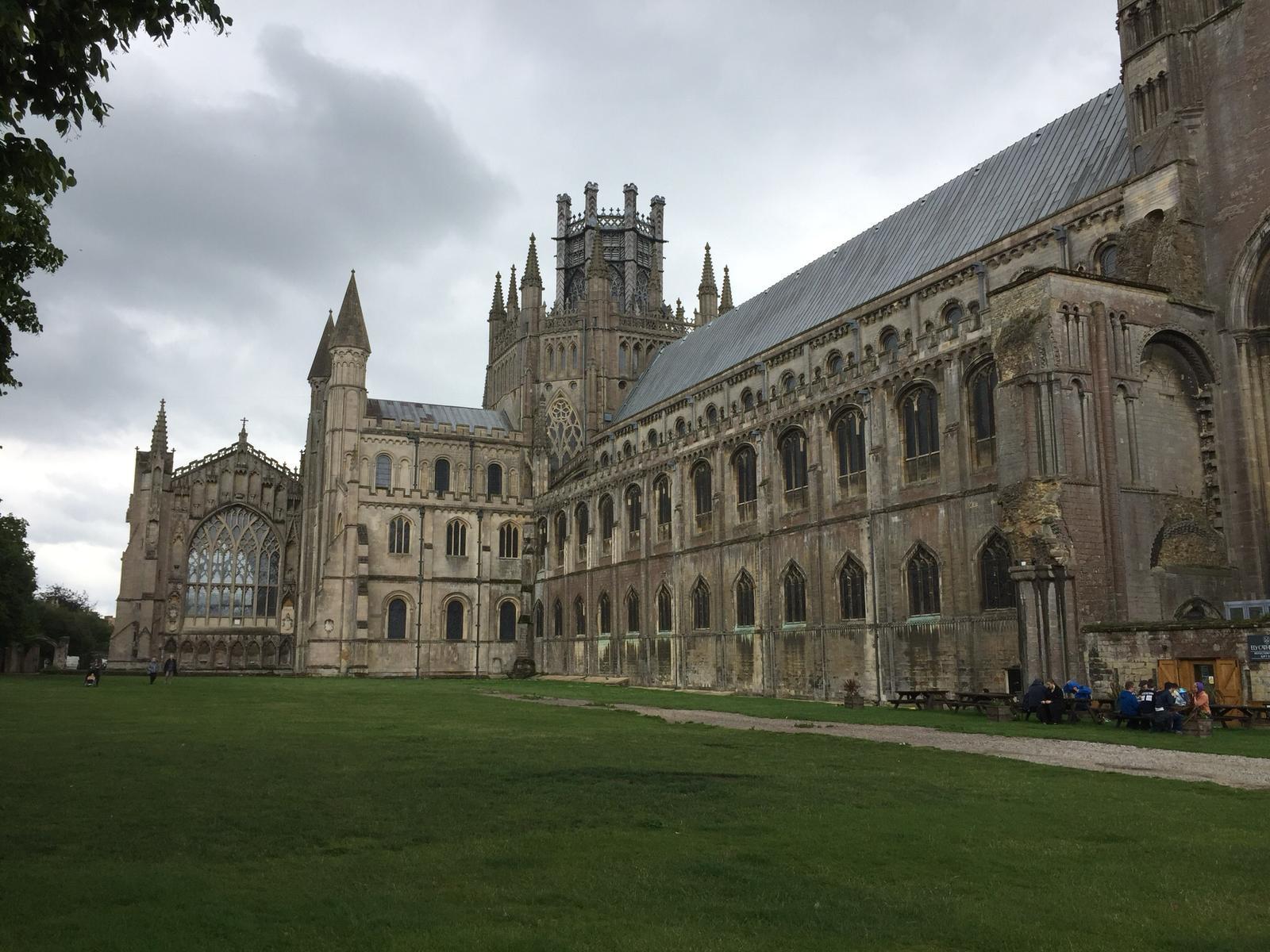 Кафедральный собор города Эли. Англия.