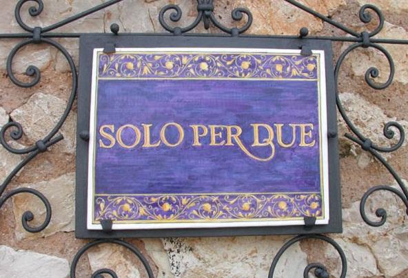 Самый маленький ресторан в Италии.