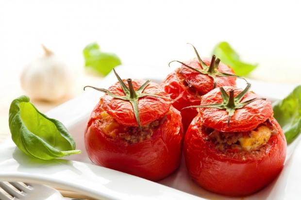 Средиземноморская кухня. Pomodori gratinati alla pugliese.
