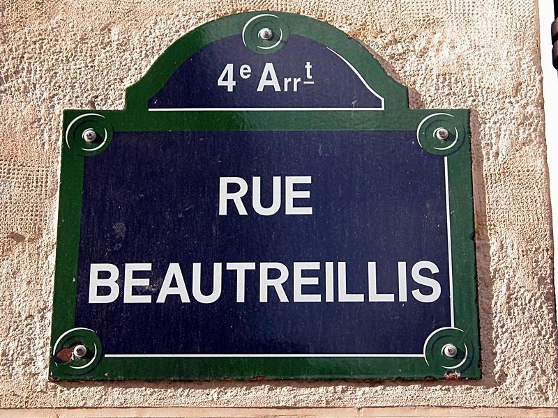 Неизвестные улицы Парижа. Rue Beautreillis.