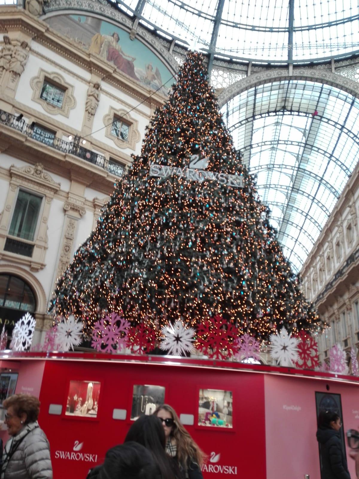 Новогодний Милан.