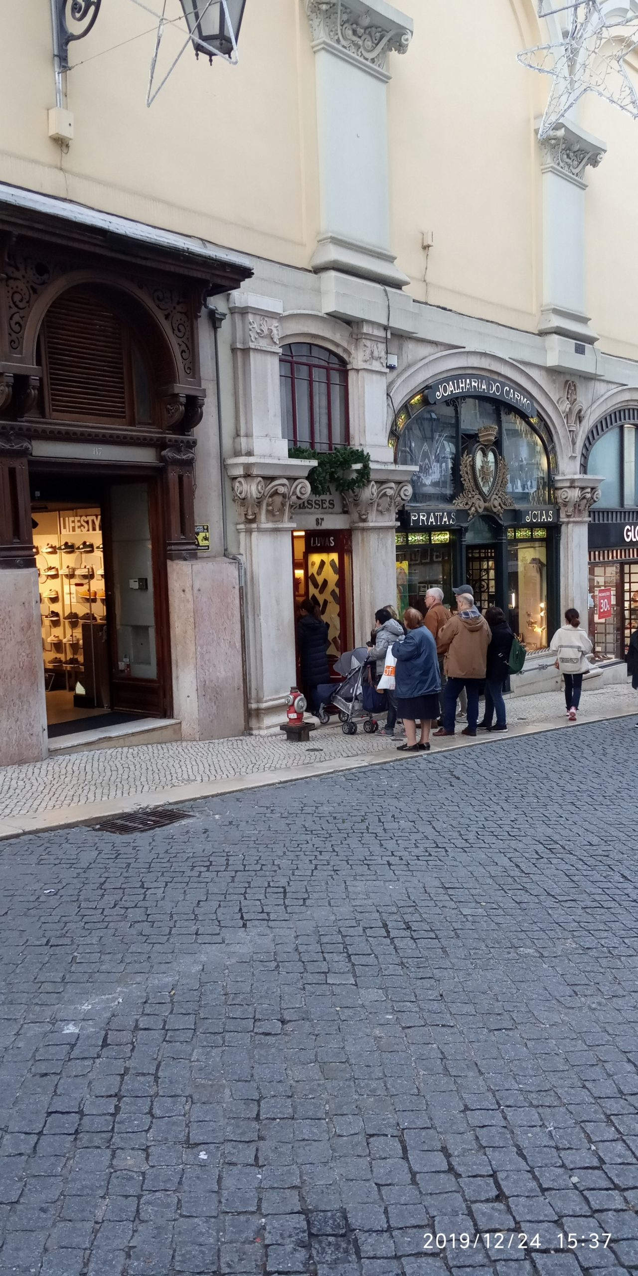 Лиссабонские заметки. Магазин перчаток.