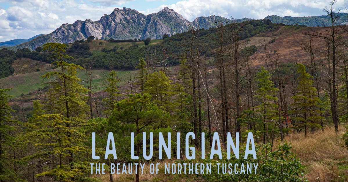 Пролетая над Тосканой. Луниджана.
