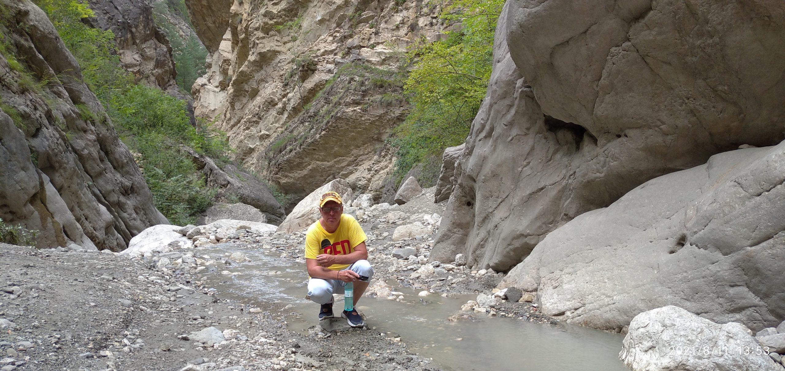 Поездка в Карадахскую теснину.